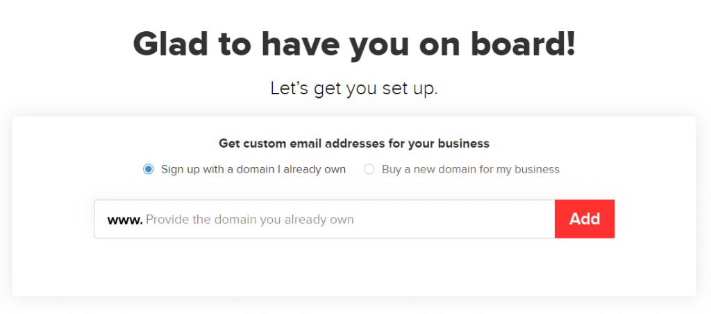 zoho免费企业邮箱