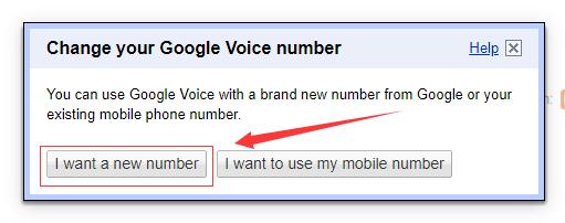 Google Voice永久号