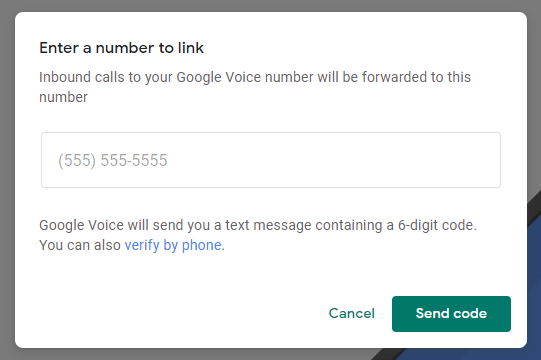 申请Google Voice号码