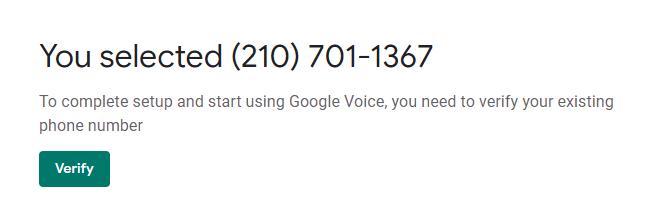 Google Voice注册