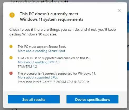 老电脑升级win11
